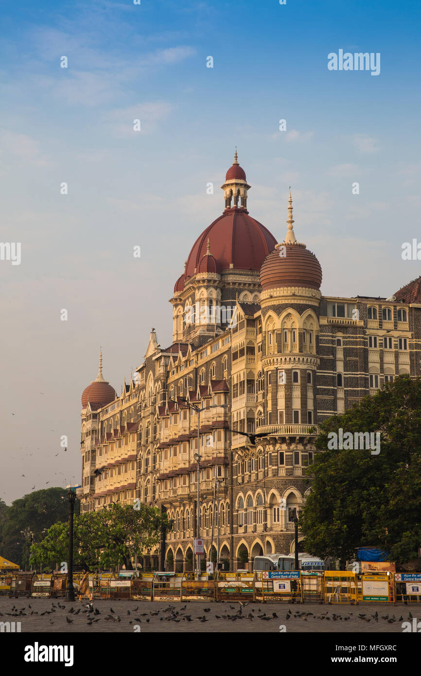 Taj Mahal Palace Hotel, Mumbai, Maharashtra, Indien, Asien Stockbild