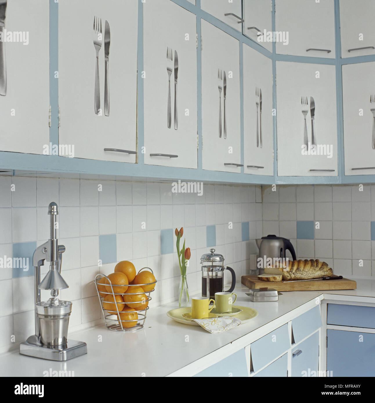 Großartig Blau Küche Fliesen Ideen Ideen - Küchenschrank Ideen ...