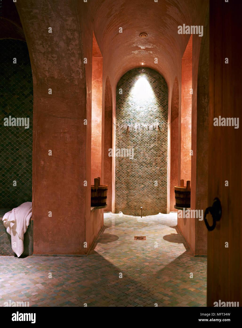 Marokkanische terrracotta Dusche Zimmer gewölbedecke Mosaikfliesen ...