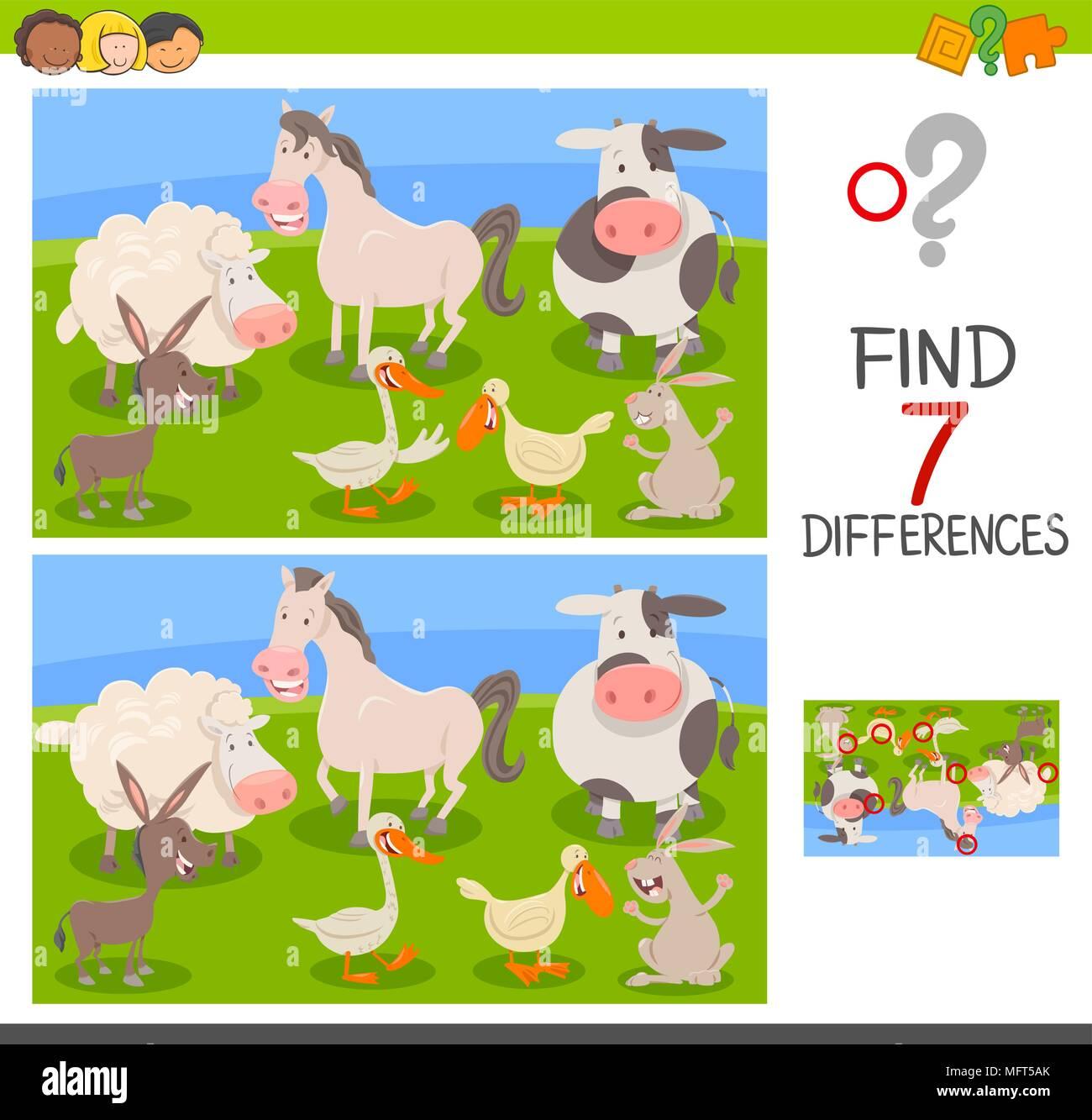 Fein Cartoon Kinder Bilder Zeitgenössisch - Druckbare Malvorlagen ...