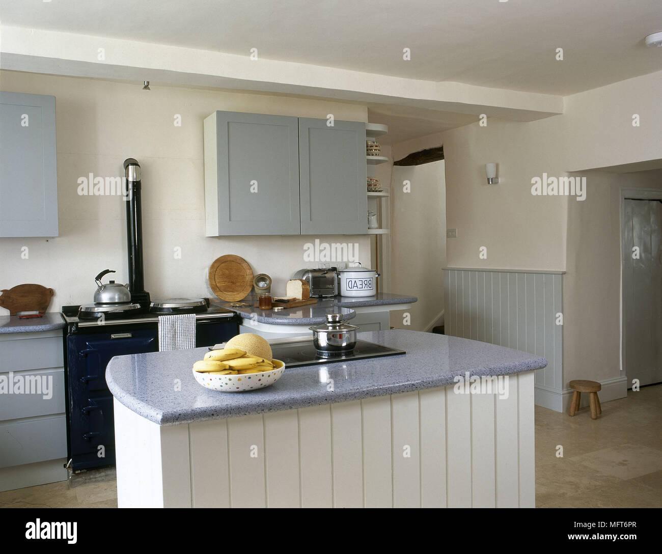 Fantastisch Freistehende Kücheninsel Mit Granit Ideen - Ideen Für ...
