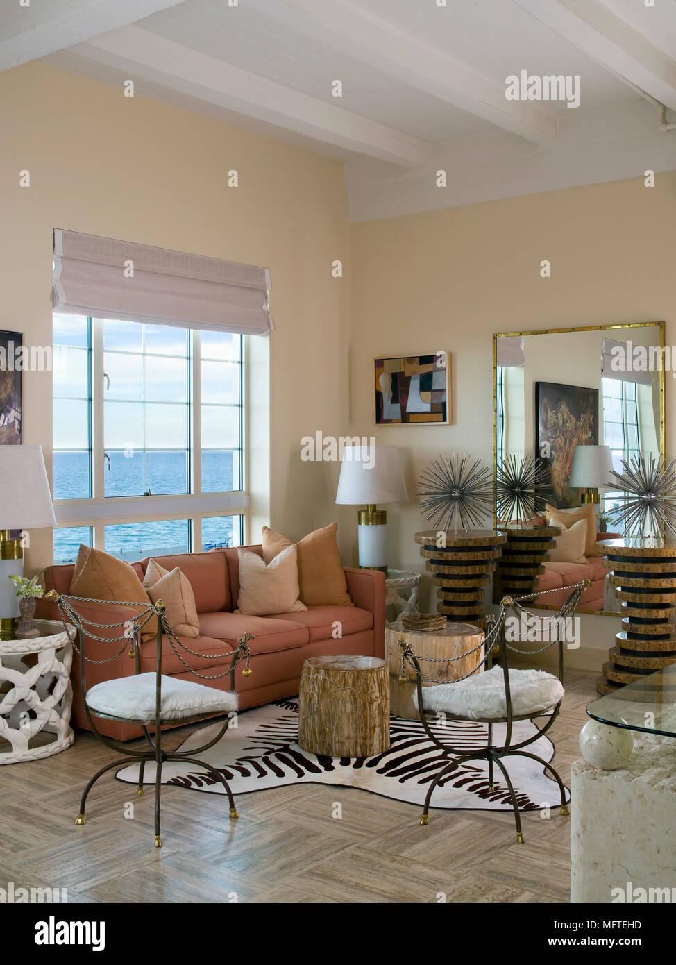 Wohnzimmer Farben Terracotta