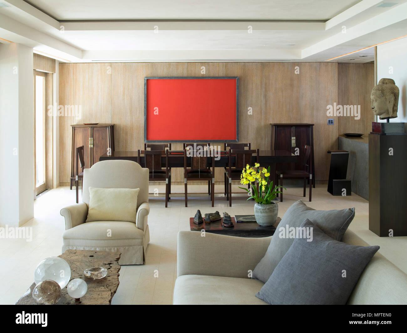 Dark Grey Sofa Cushions In Stockfotos & Dark Grey Sofa Cushions In ...