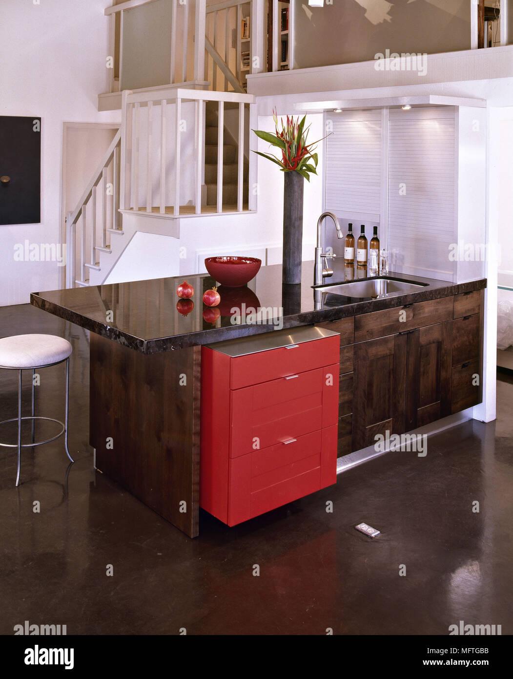 Großzügig Spitze Küchenschrank Und Granit Galerie - Ideen Für Die ...