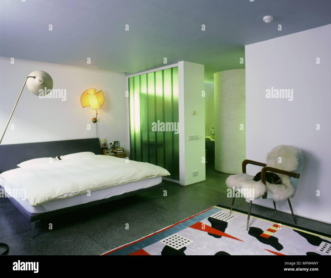 Moderne eklektische Schlafzimmer Schrankwand Division Zimmer ...
