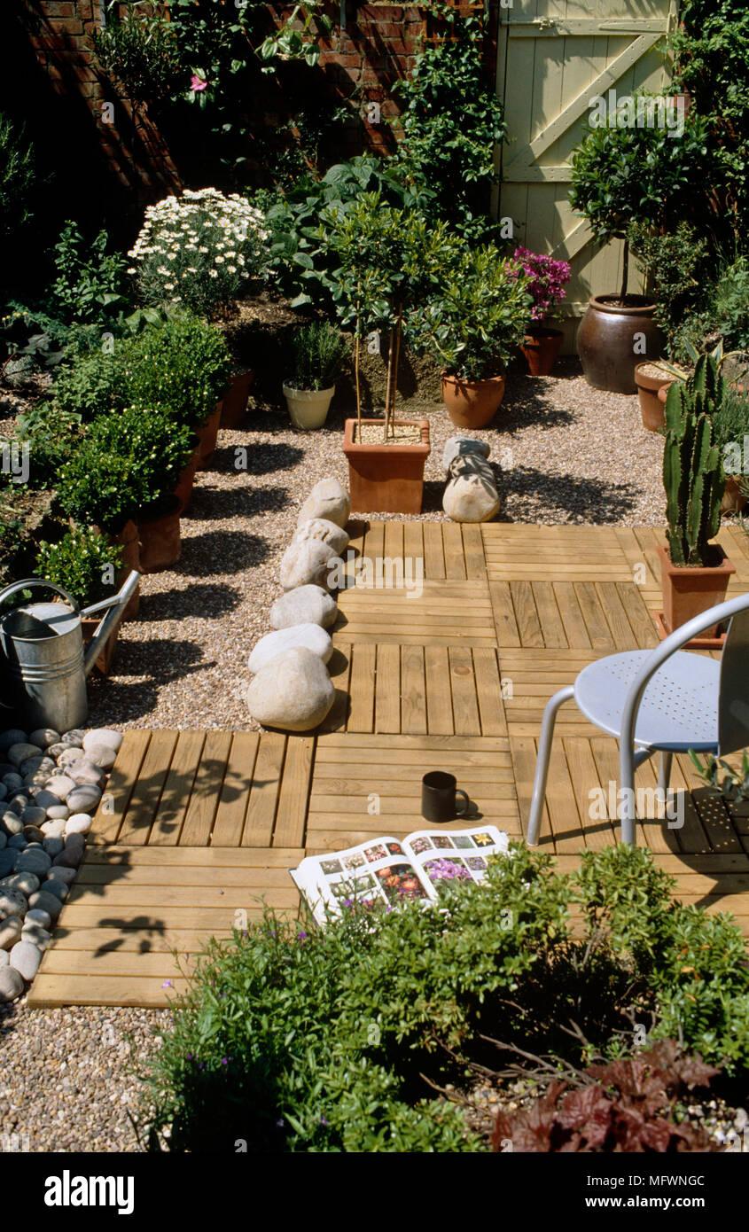 Small Patio Garden London Design Stockfotos und  bilder Kaufen   Alamy