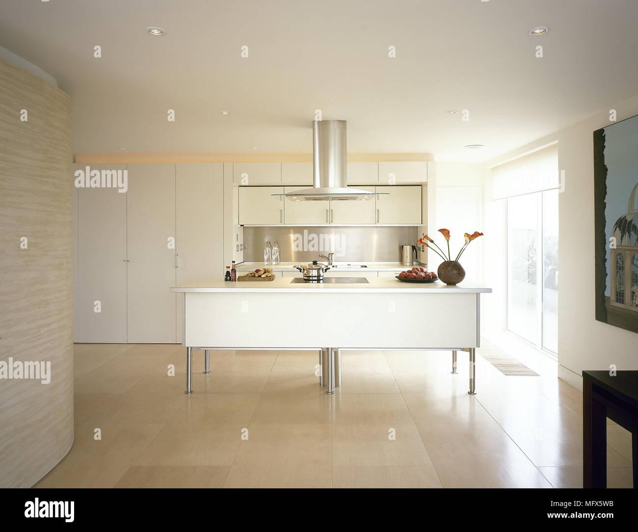 Ausgezeichnet Ansicht Küchen Mit Weißen Schränken Bilder ...
