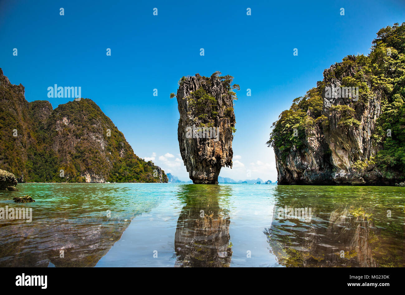 Khao Phing Kan oder Ko Tapu Insel in Thailand in der Nähe