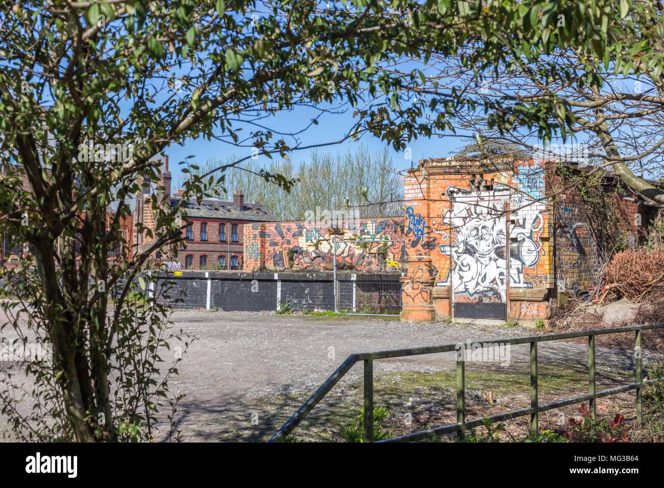 Innere Stadt, Natur trifft Stadt, Städtebau mit Graffiti und Framing ...