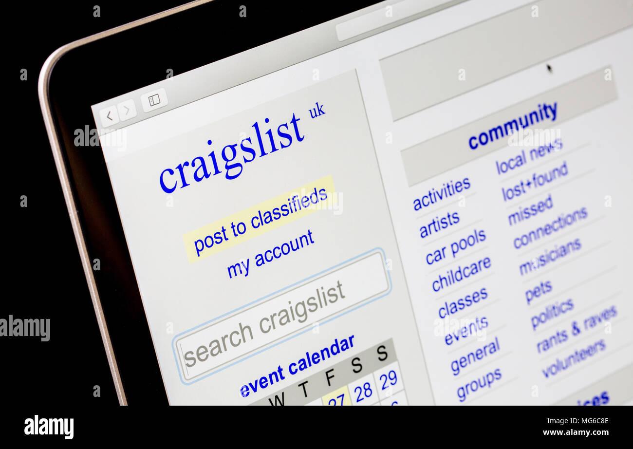 Craigslist Stockfotos Craigslist Bilder Alamy