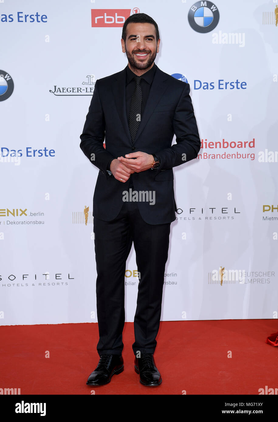 27 April 2018 Deutschland Berlin Schauspieler Elyas Mbarek Bei