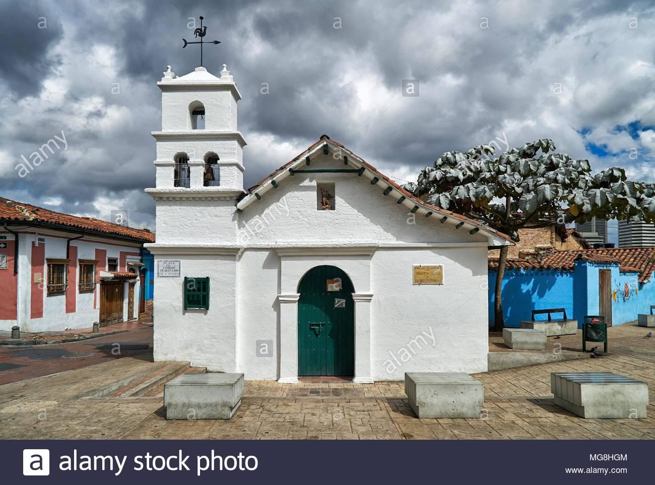 Ermita de San Miguel del PrÃ-ncipe Stockbild