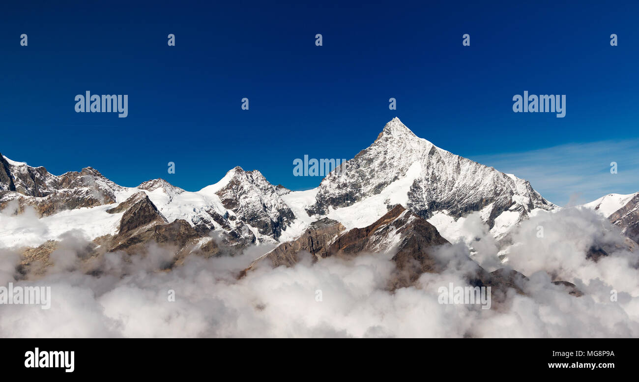 Zermatt. Matterhorn. Die Schweiz. Schweiz. Stockbild