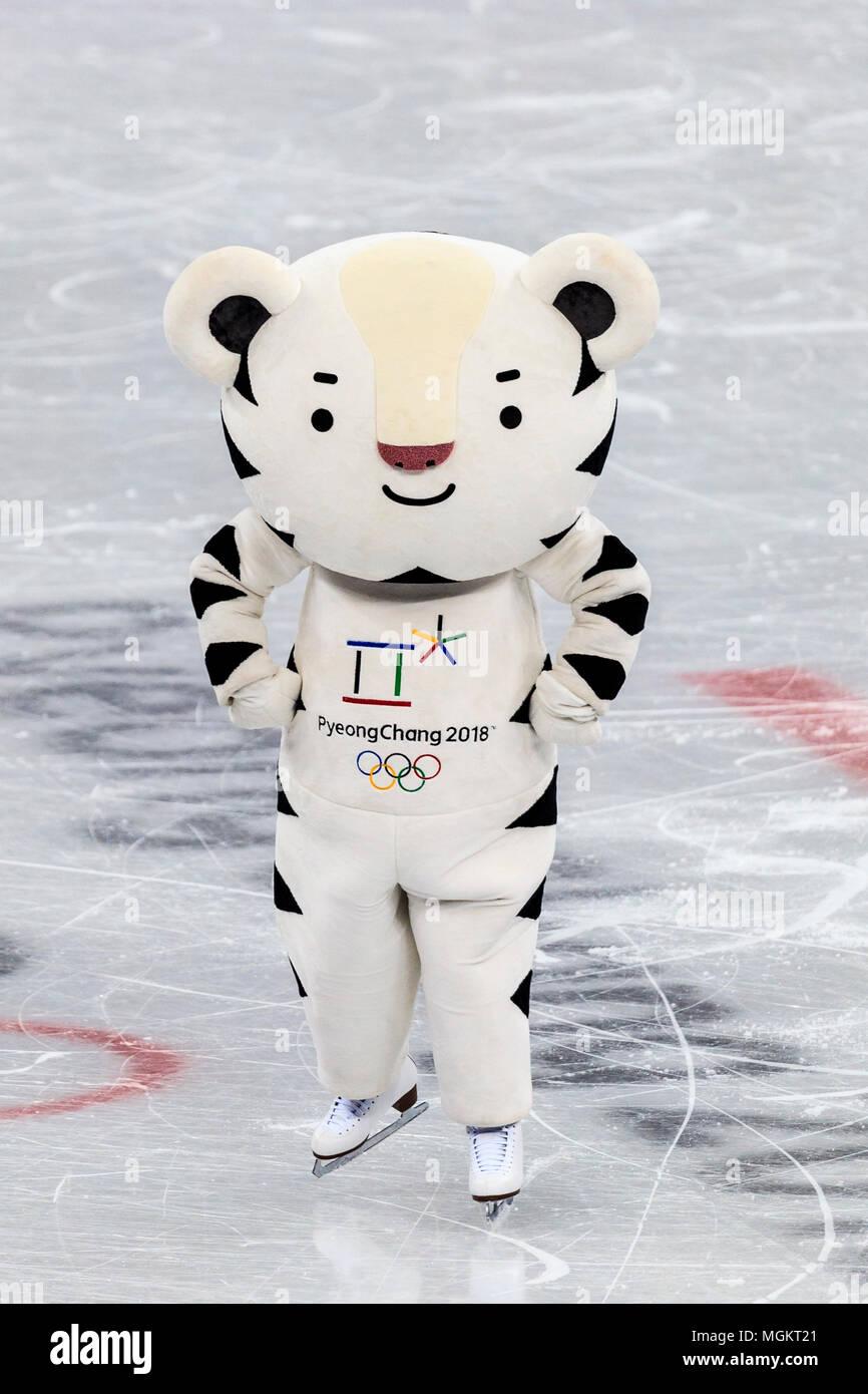 invernali olimpici SoohorangMascotte Giochi i per del 2018 shrtQxCdBo
