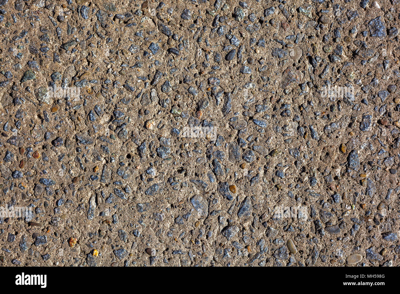 Close Up Abstract Kleiner Stein Beton Estrich Textur Hintergrund
