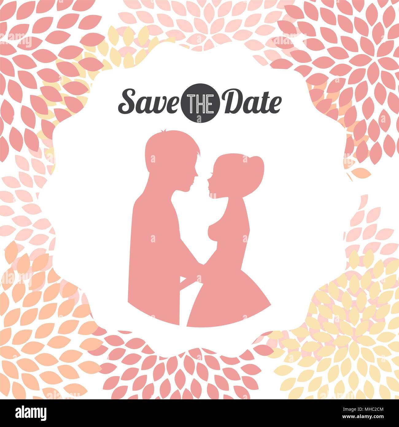 Hochzeit Einladung Design, Vektor Eps Abbildung 10 Grafik