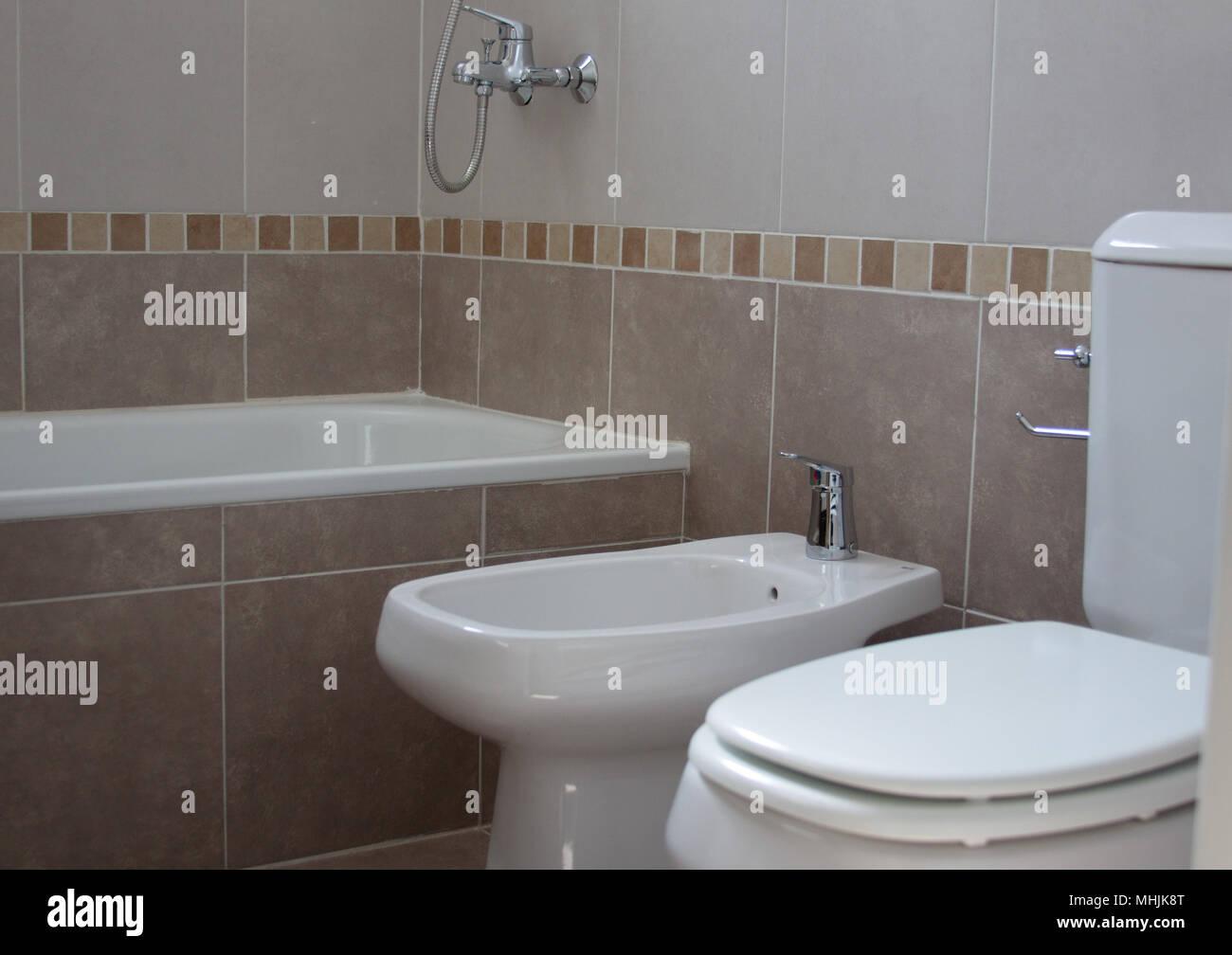 Badezimmer, WC Stockfoto, Bild: 182963112 - Alamy