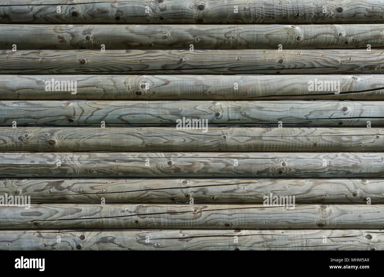 Schone Textur Aus Roundwoods Knoten Und Holz Maserung Gestreiften