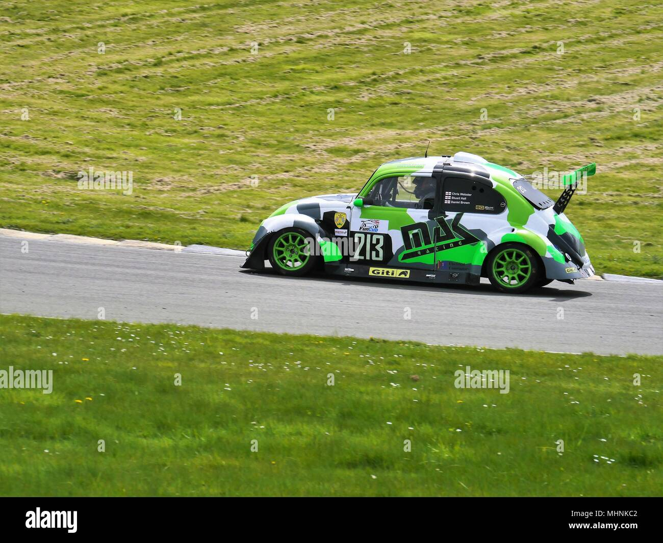 28. April 2018, Anglesey Stromkreis/Trac Môn, UK. Fun Cup, Rennen 1. Stockbild