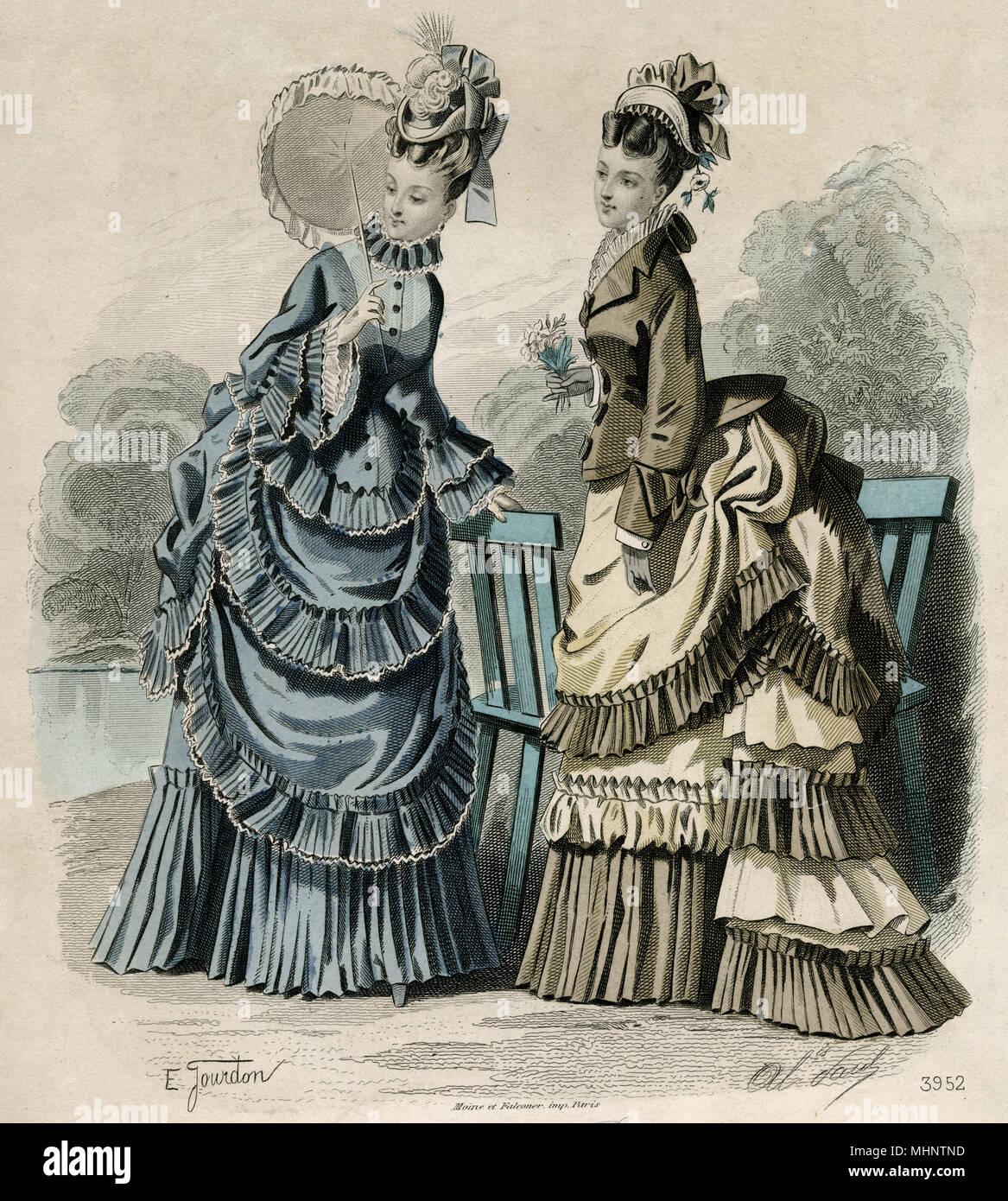 new styles 4da02 31b98 Modische Damen tragen zwei Ton jacke Jacken und Röcke. Datum ...