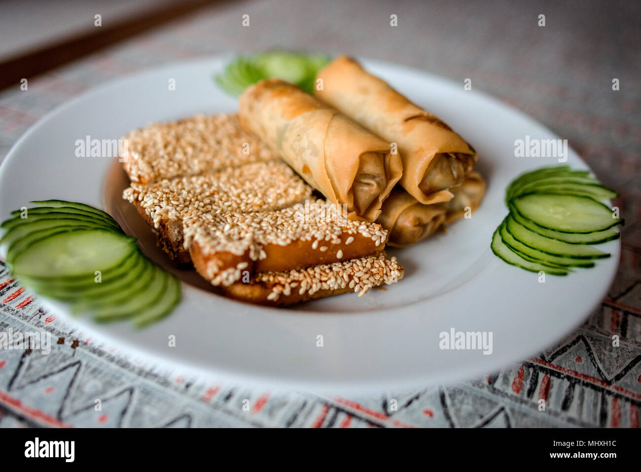 Chinesisches Essen Stockbild