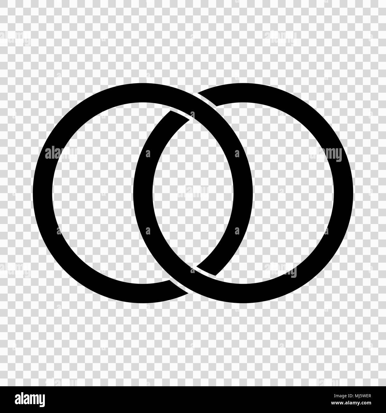Kreise Ringe Konzept Symbol Vektor Abbildung Bild 183297263 Alamy
