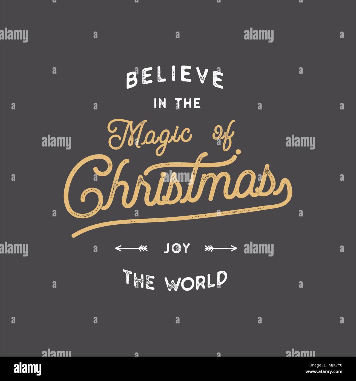 Frohe Weihnachten Schriftzug Lassen Sie Es Schneien