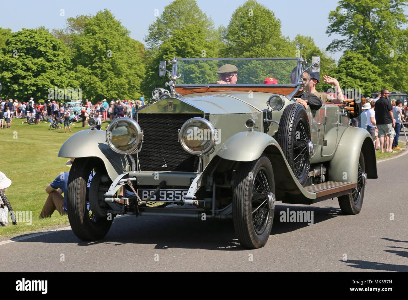 1924 rolls royce silver ghost tourer chestnut sonntag 6 mai 2018