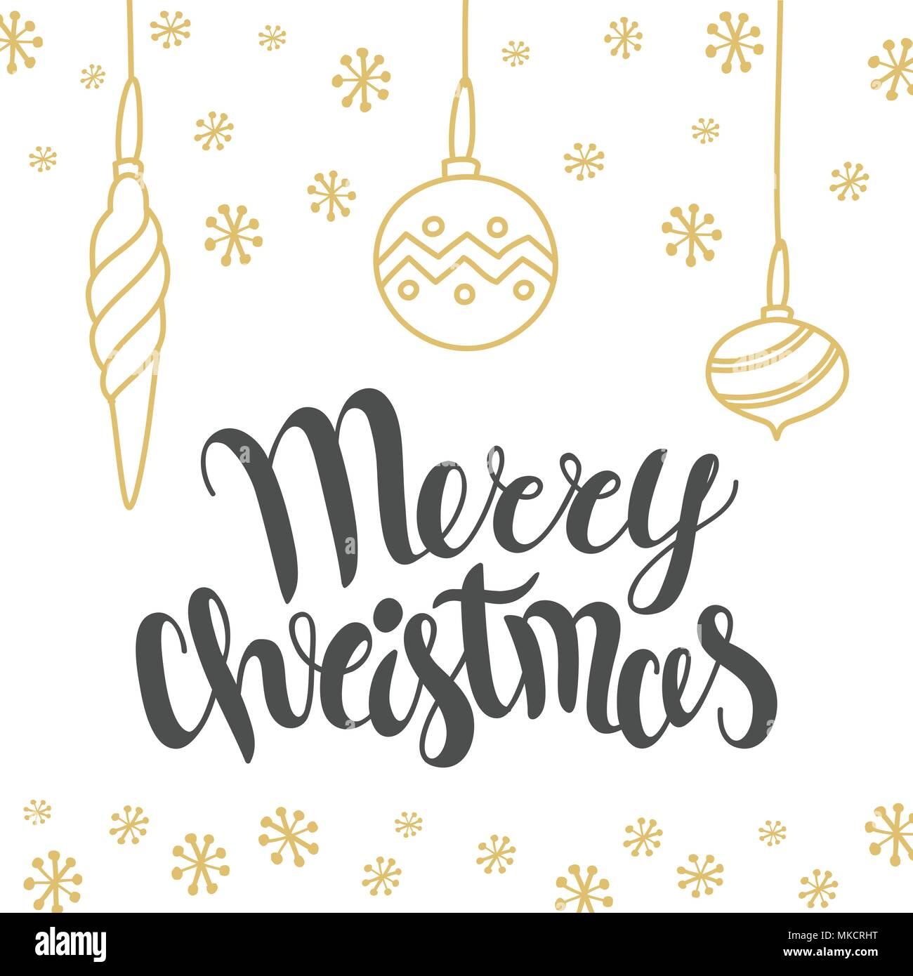 Schriftzug Frohe Weihnachten.Christmas Card Design Mit Schriftzug Frohe Weihnachten Und
