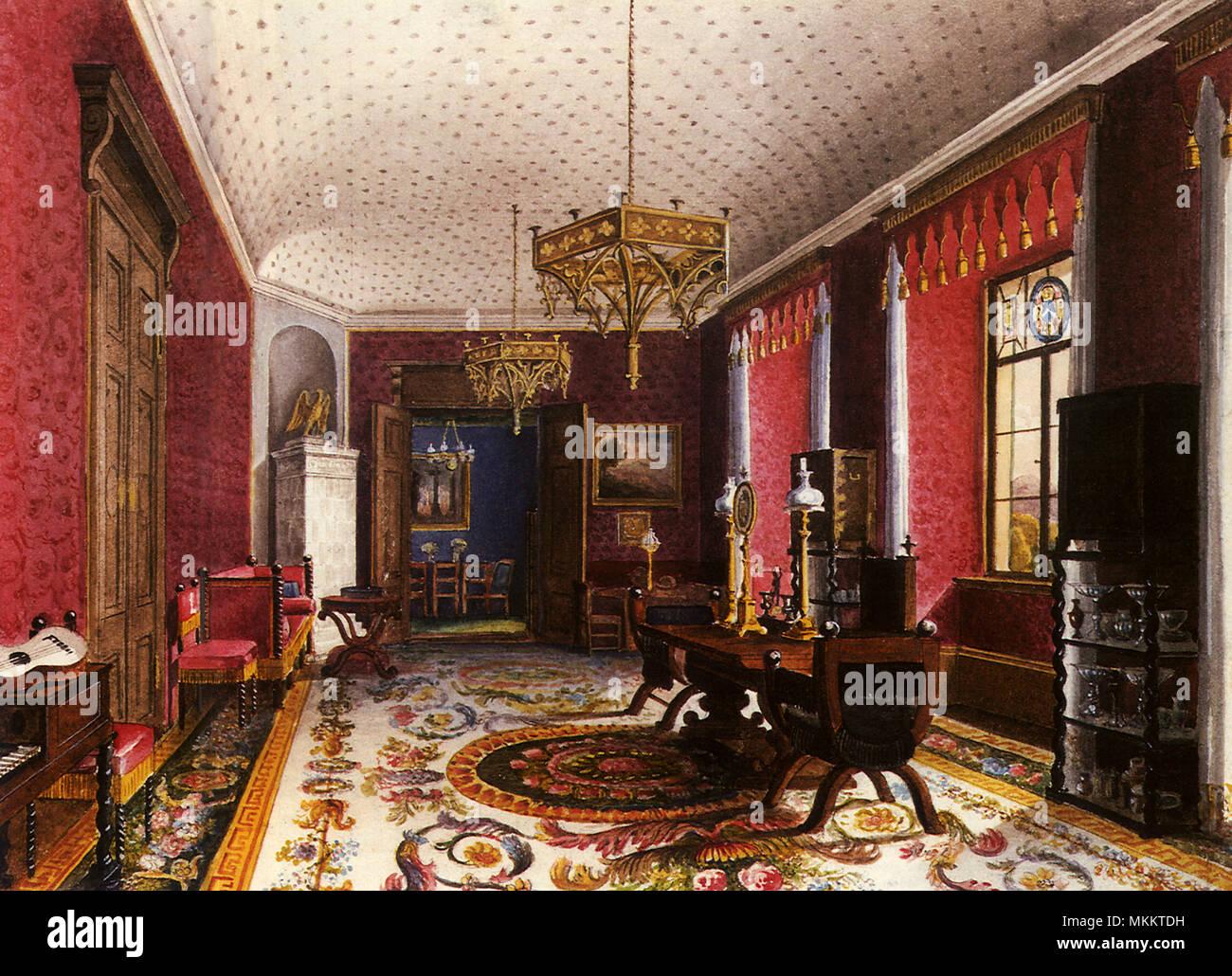 Zimmer Rot Stockfoto Bild 184218429 Alamy
