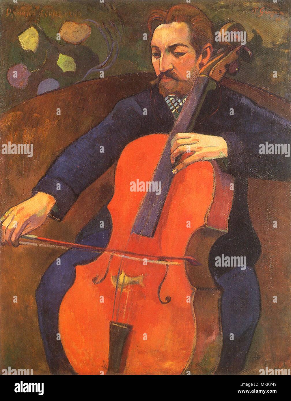 Portrait von Fritz Schneklud Stockfoto