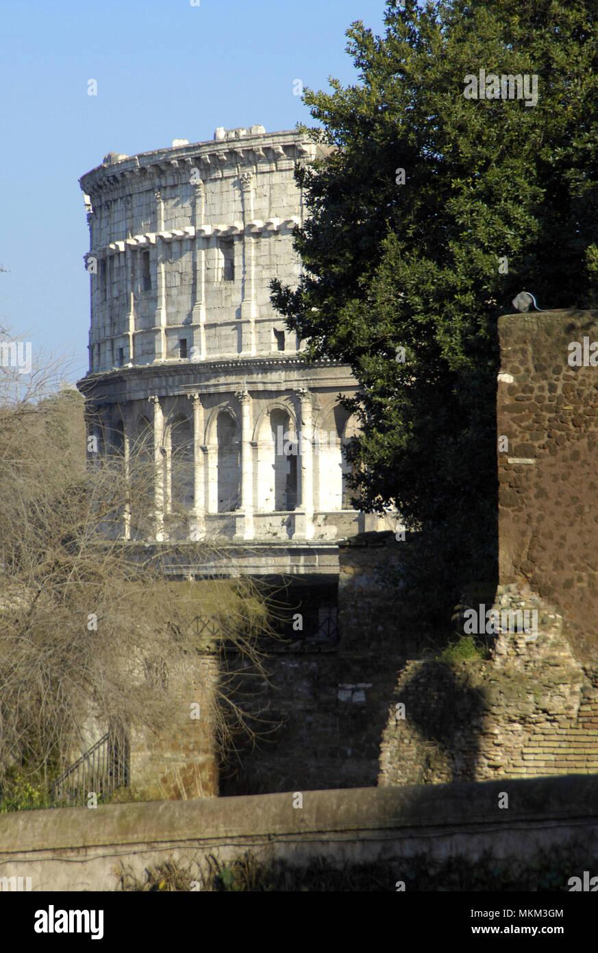 Rom; Sozialismus; Roma antica; Rom; Colosseo; Kolosseum; Colosseum; Italienisch; Italien; Italia; Latium; Lazium; Europa; Europa; Reise; Reisen; viaggio; Christe Stockbild