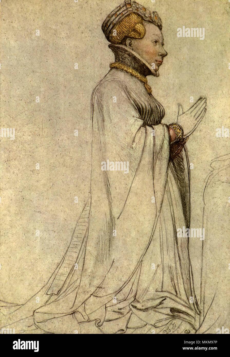 Herzogin von Berry 1525 Stockbild