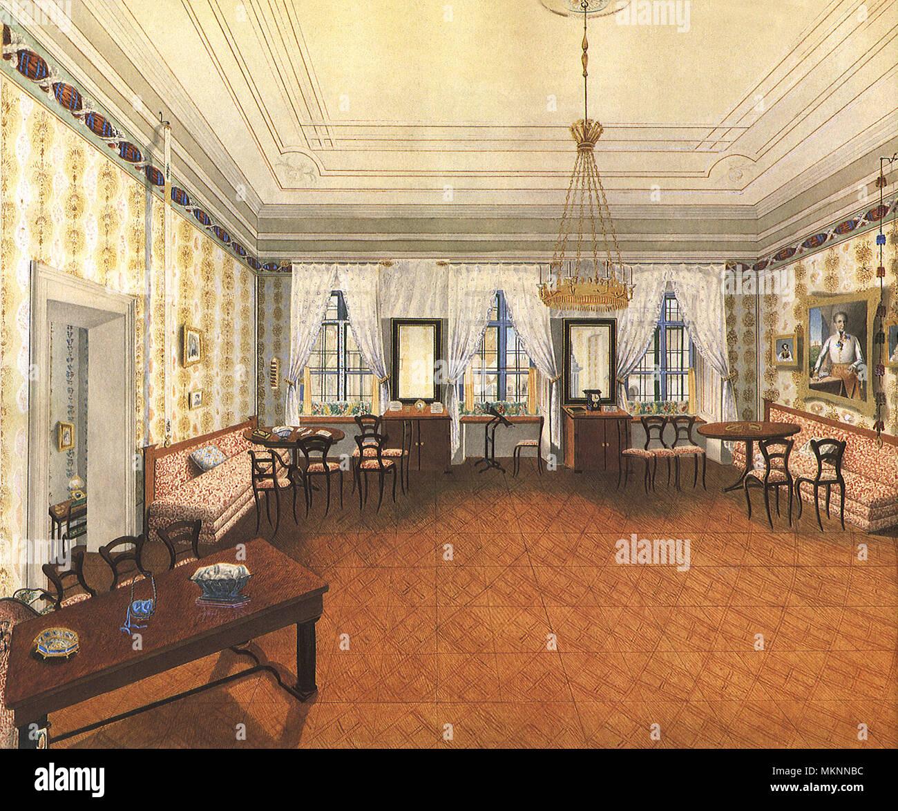 Biedermeier Wohnzimmer Stockfotografie - Alamy