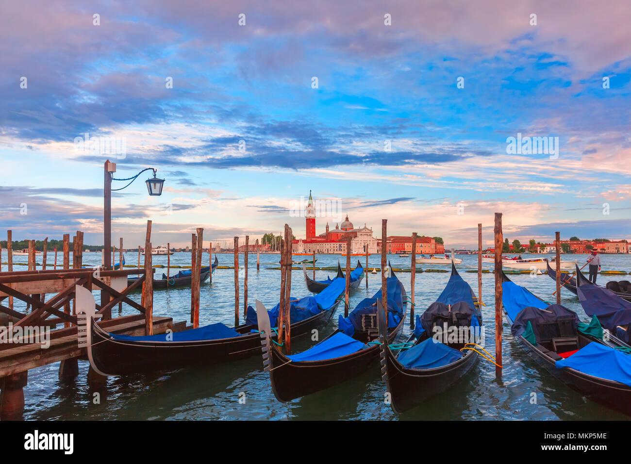 Kirche von San Giorgio Maggiore in Venedig, Italien Stockbild