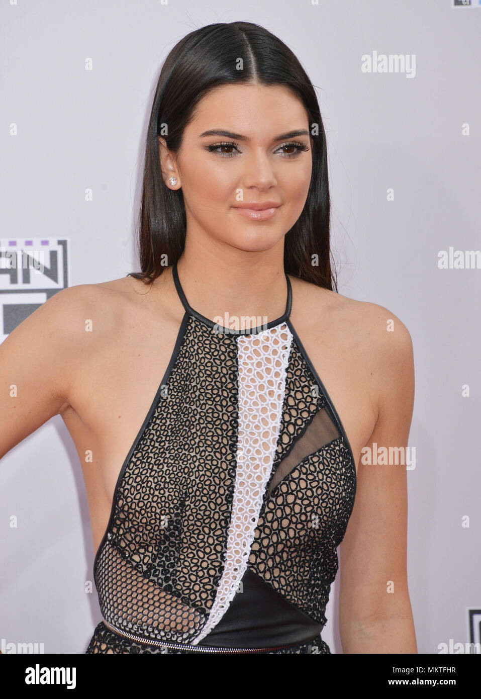In Los Angeles Kendall Jenner Headshot Stockfotos & In Los Angeles