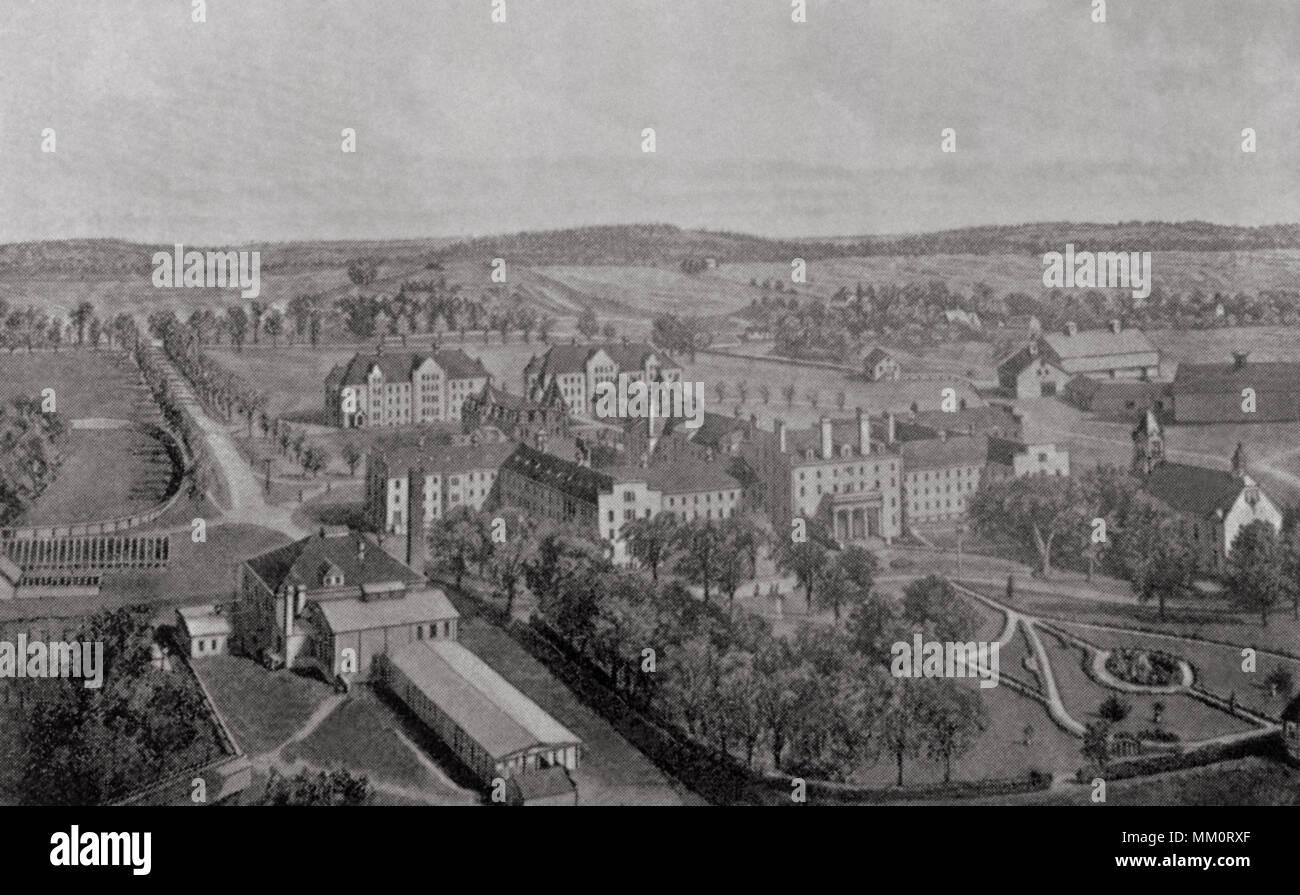 Verrückt Krankenhaus. Augusta. 1904 Stockbild