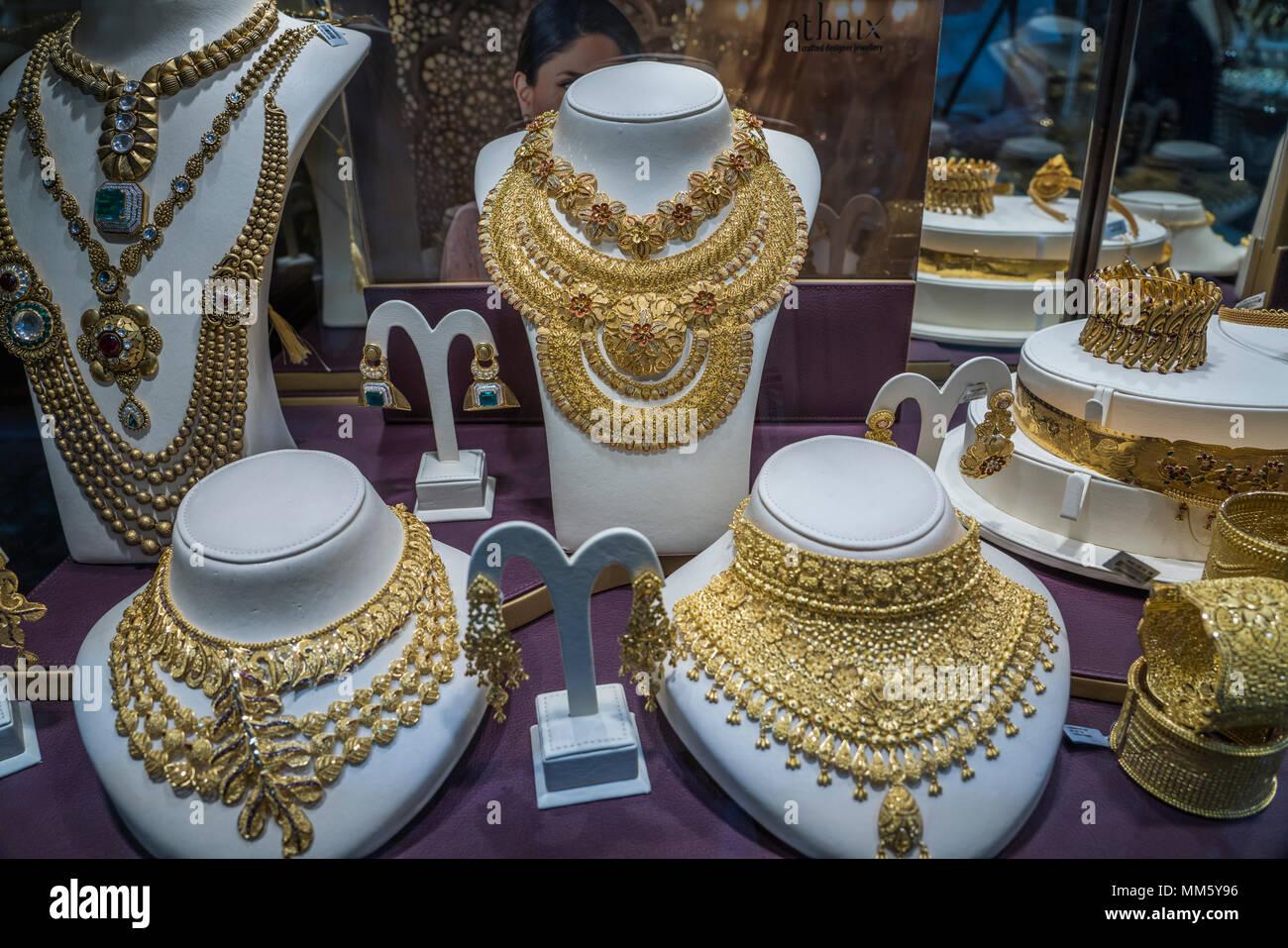 Gold Schmuck zum Verkauf in der Gold Märkte der Altstadt