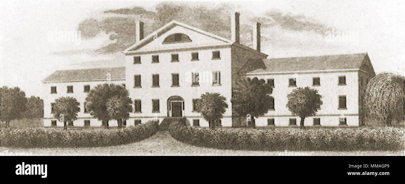 Connecticut Rückzug für die verrückt. Hartford. 1900 Stockbild