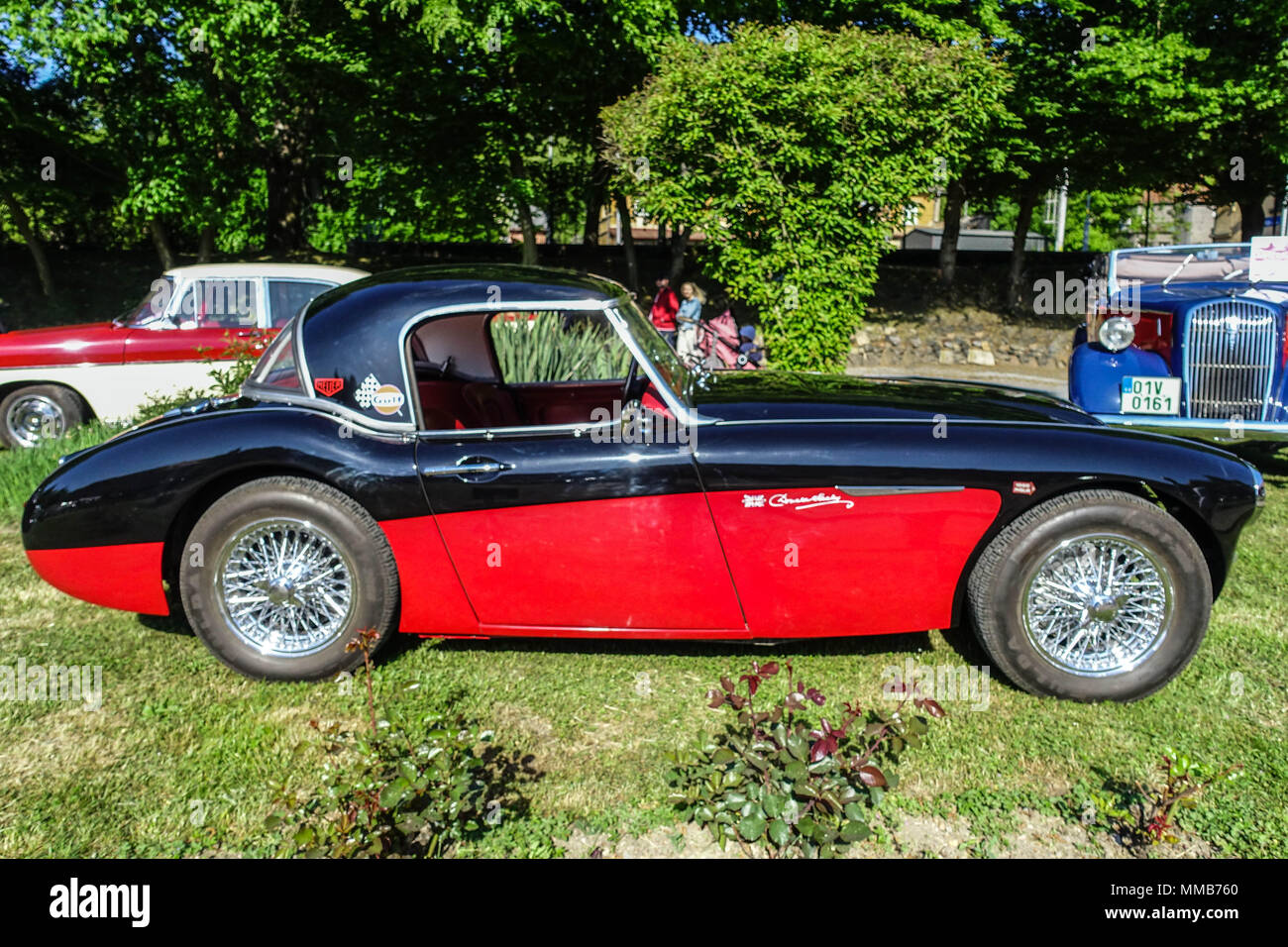 Austin Healey 1960 Stockbild