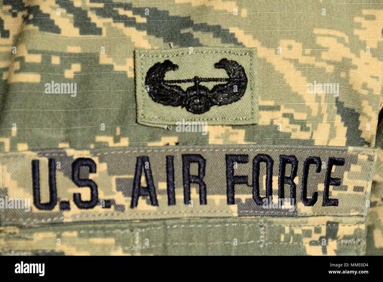 Die United States Army Air Assault Badge Ist Auf Roten Pferd 219th