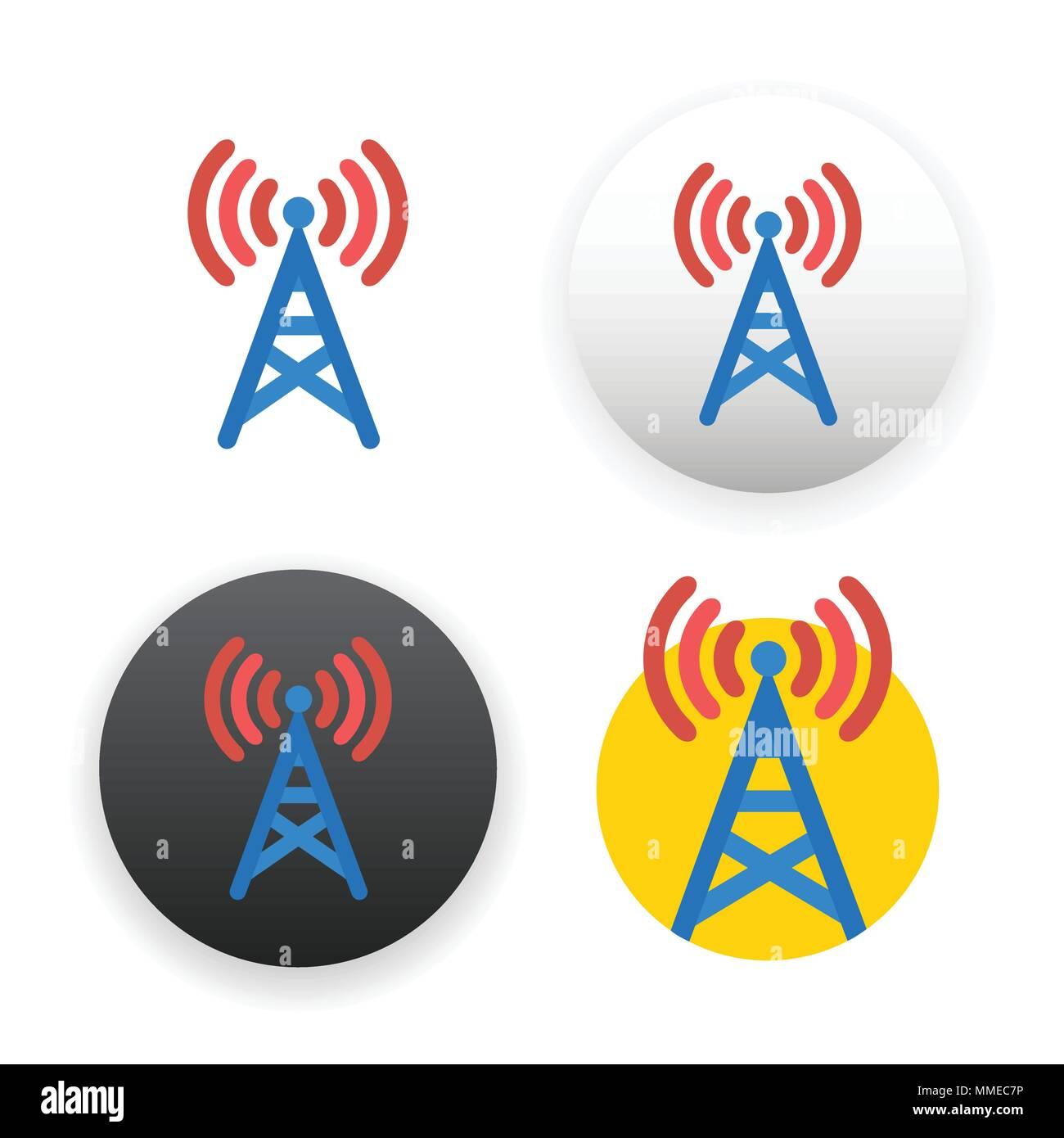 Antenna Tower Icon Stockfotos & Antenna Tower Icon Bilder - Alamy