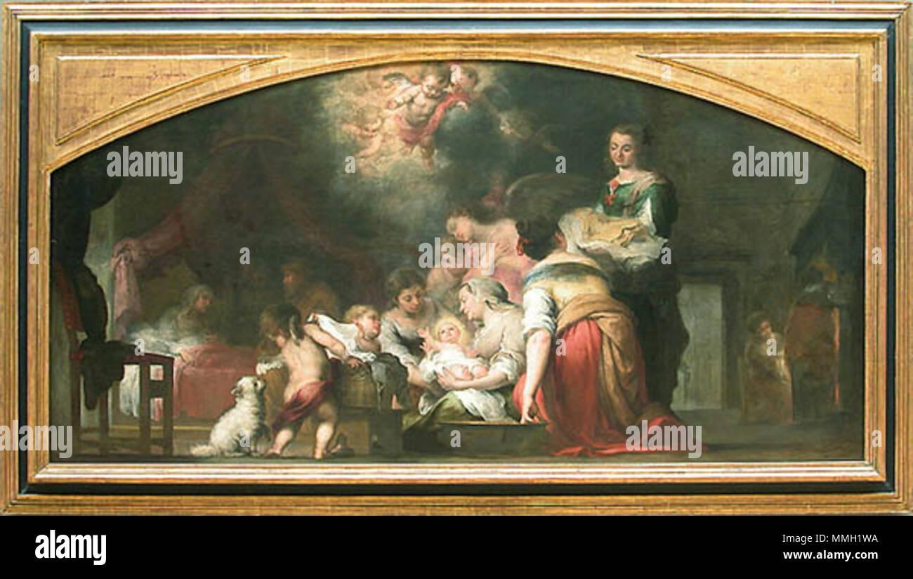 El Nacimiento De La Virgen Museo Del Louvre París 1660