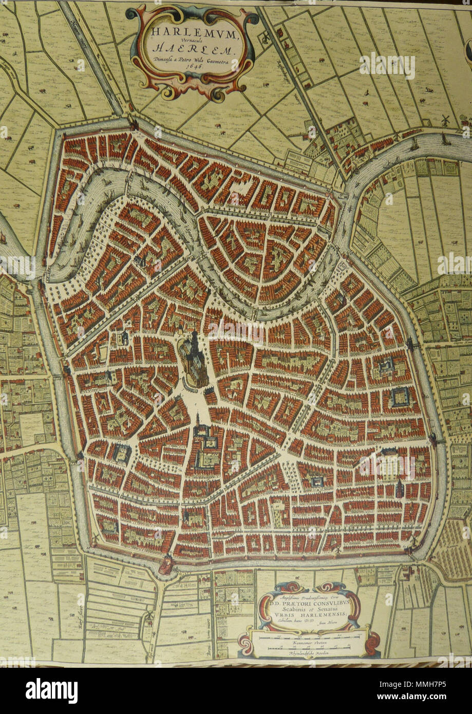 Map Of Haarlem Stockfotos & Map Of Haarlem Bilder - Alamy