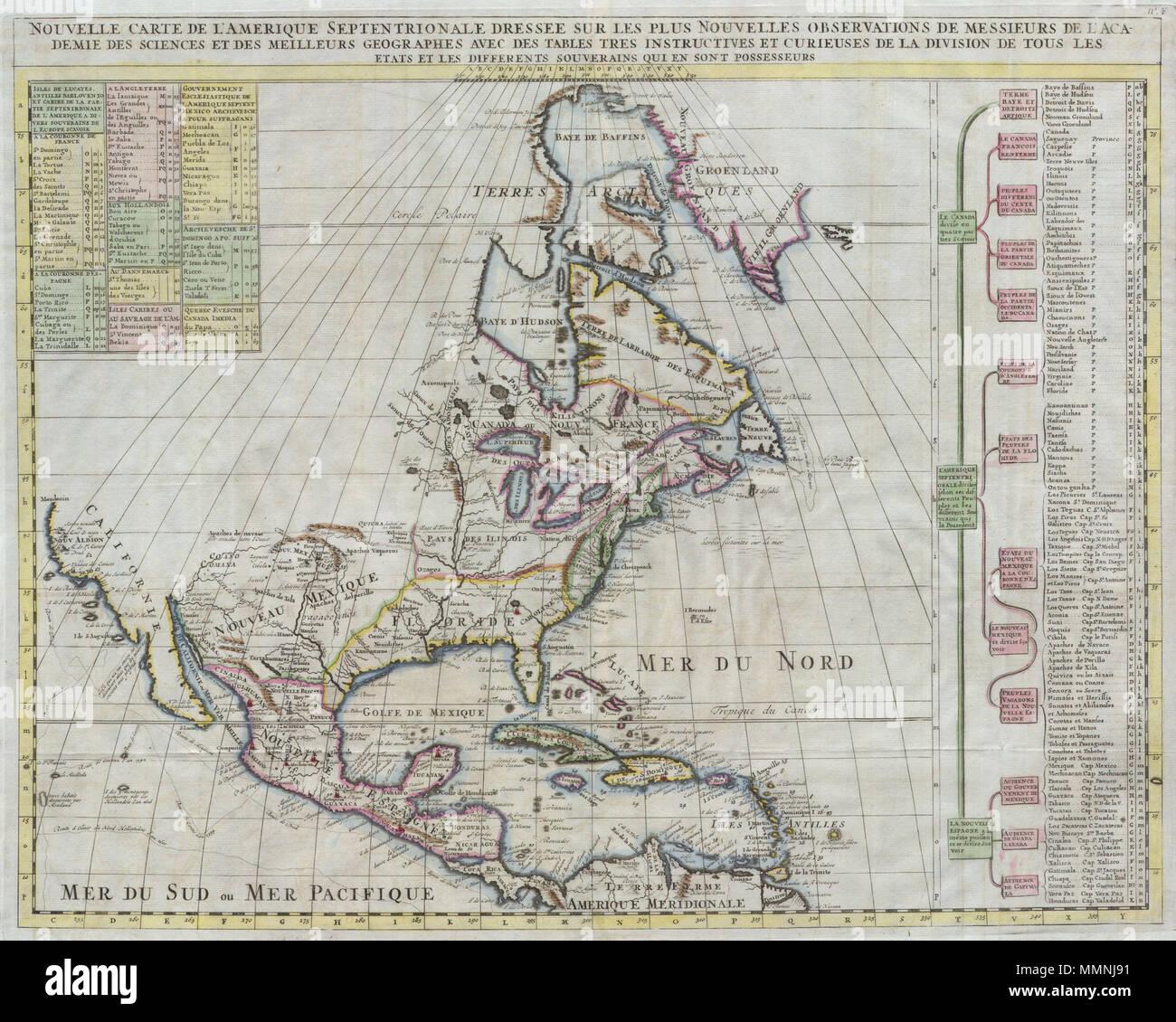 Indianerstamme Nordamerikas Karte.Englisch Hier Angeboten Ist Eine Atemberaubende Karte Von