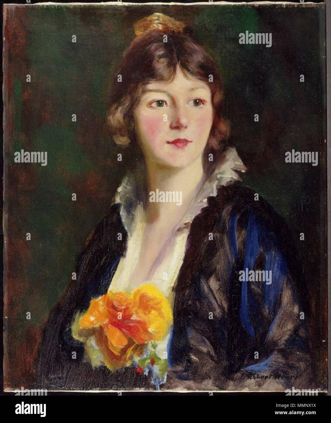 Englisch: Robert Henri, amerikanischen, 1865 - 1929 Mildred Clarke ...