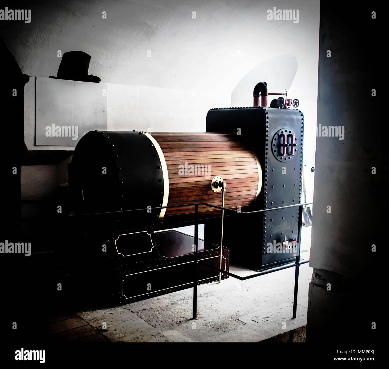Old Boiler Energy Stockfotos & Old Boiler Energy Bilder - Alamy