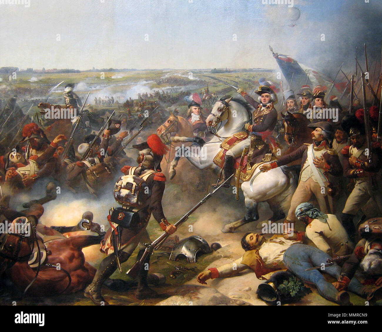 Français Bataille De Fleurus Victoire Française Du Général Jourdan