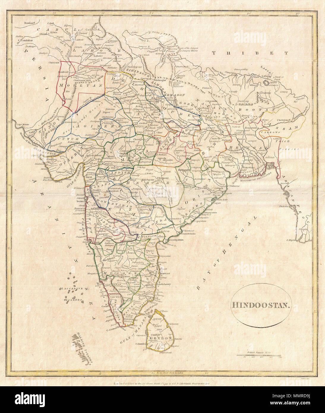 Britische bengalische Datierung