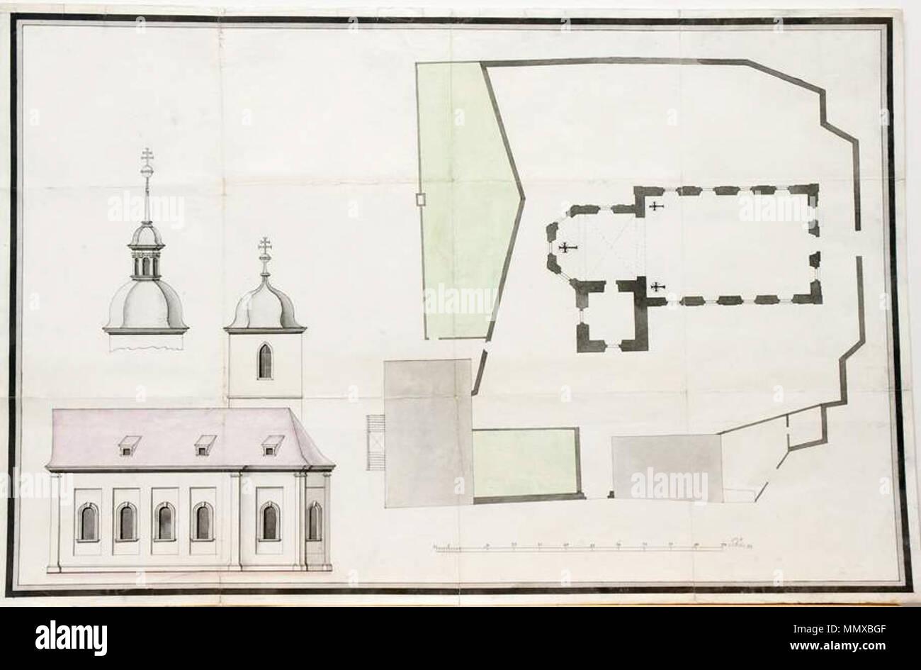 Balthasar Neumann Und Atelier Entwurf Für Die Pfarrkirche St